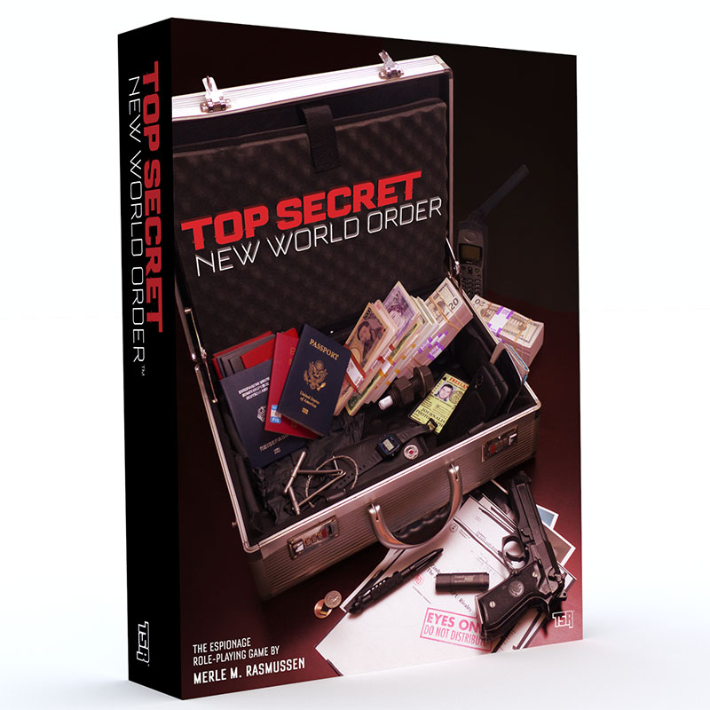 Top Secret: New World Order box cover
